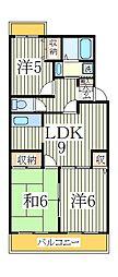 第16パールメゾン小倉[3階]の間取り