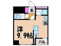 愛媛県松山市大手町1丁目の賃貸マンションの間取り