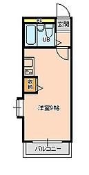 ジュネパレス松戸第17[105号室]の間取り
