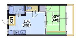 小池マンション[2階]の間取り