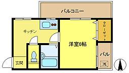 N3マンション[301号室]の間取り