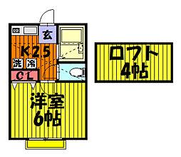 第37アベニュー[203号室]の間取り