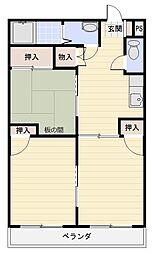 TERRA21[407号室]の間取り