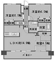willDo黒川[4階]の間取り