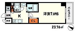 M'プラザ守口[5階]の間取り