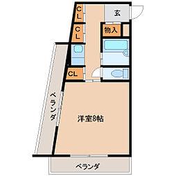 ひらこうパート1[5階]の間取り