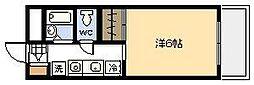 オクトワール宮崎東[103号室]の間取り