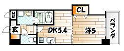 THE SQUARE Platinum Residence[14階]の間取り