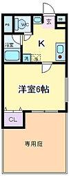 我孫子88マンション[103号室]の間取り