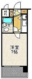 朝日プラザ六本松[301号室]の間取り