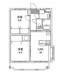 エクレール 1[303号室]の間取り