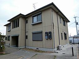 大阪府高槻市大冠町1丁目の賃貸アパートの外観