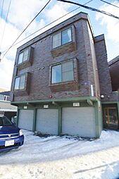 北海道札幌市西区発寒四条4丁目の賃貸アパートの外観