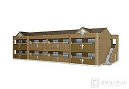 京ヶ峰M様新築アパート[1階]の外観