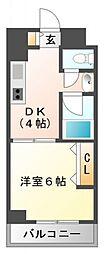 第13関根マンション[9階]の間取り