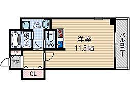 協同レジデンス摂津富田[3階]の間取り