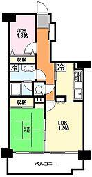 エクセル津田沼[8階]の間取り