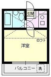 アートパレス上福岡[202号室号室]の間取り