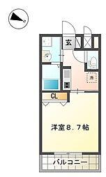 ワレアオコダ[2階]の間取り