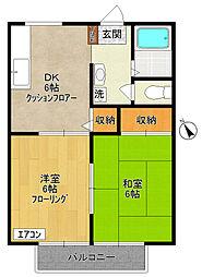 ヴィレッジ II - Village II -[3階]の間取り