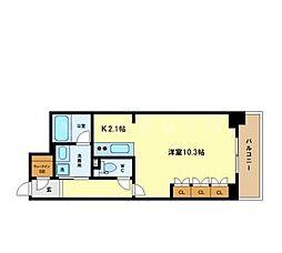ACTIO梅田東[12階]の間取り