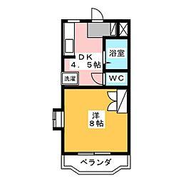 MAISON DE CLEO I[1階]の間取り