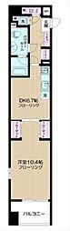 日神デュオステージ横濱マリンスクエア[9階]の間取り