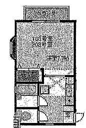 ドエルT[2階]の間取り