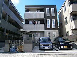 大阪府高槻市城北町1丁目の賃貸アパートの外観