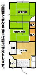 白石アパート[2階]の間取り