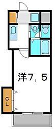 M'プラザ門真駅前[2階]の間取り