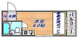 篠原ヒルズコート[203号室]の間取り