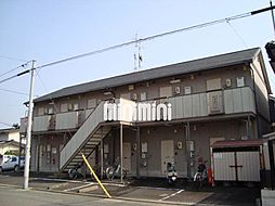 ホリホック川北[1階]の外観