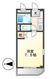 ハイム大樹[2階]の間取り