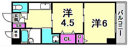 FM城ヶ堀[3階]の間取り