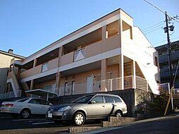 愛知県名古屋市名東区社が丘1丁目の賃貸アパートの外観