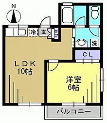 メゾン鈴木[201kk号室]の間取り