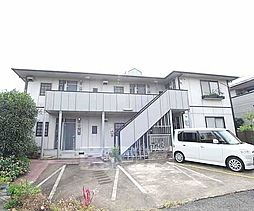 京都府向日市上植野町円山の賃貸アパートの外観