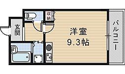 ラシーヌ山坂[6階]の間取り