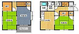 [一戸建] 広島県福山市千田町3丁目 の賃貸【/】の間取り