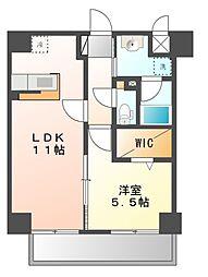 ロイヤルアベニュー[2階]の間取り