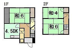 [一戸建] 広島県広島市東区温品2丁目 の賃貸【/】の間取り