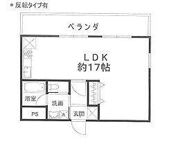 エターナル三宅[2階]の間取り