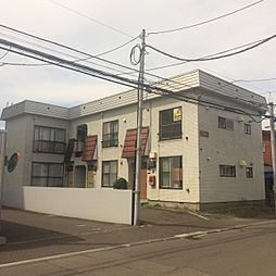 北海道札幌市南区澄川二条4丁目の賃貸アパートの外観