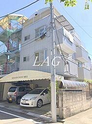 東京都北区西が丘1丁目の賃貸マンションの外観