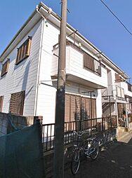 埼玉県富士見市鶴馬1丁目の賃貸アパートの外観