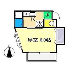 メゾン SAKURA[2階]の間取り
