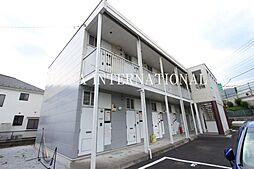 東京都調布市飛田給3の賃貸アパートの外観