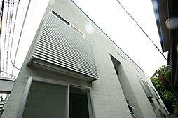 東京都新宿区中井1丁目の賃貸アパートの外観