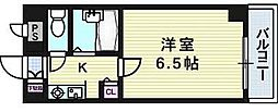 サンロイヤル長柄[2階]の間取り